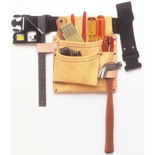 3 Pocket Nail & Tool Bag With Polyweb Belt IPK489X