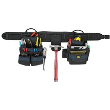 4 Piece 20 Pocket Carpenters Tool Belt Combo