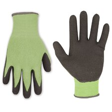 Bamboo Latex Dip Gripper Gloves
