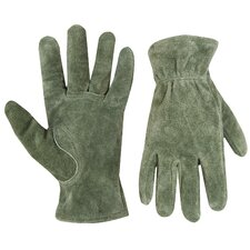 Women's Suede Leather Driver Gloves
