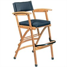 "32"" Deluxe Bamboo Director Chair"