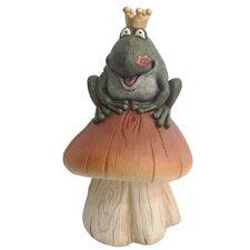 <strong>DHI Accents</strong> King Frog Garden Decor