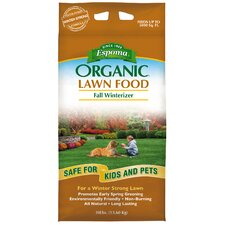 Organic Fall Winterizer Lawn Food 30 Lbs