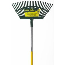 Flex Steel Head 4' Handle Leaf Rake