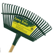Handle Steel Head Lawn Rake