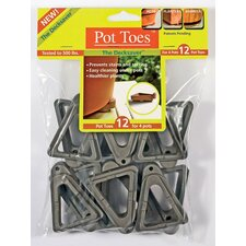 Gardenrite Pot Toes (Set of 12)