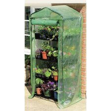 <strong>Gardman USA</strong> Grow It 4 Tier PVC Growing Rack Greenhouse