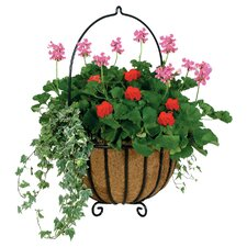 Cauldron Hanging Planter