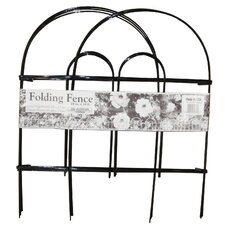 "18"" x 10' Folding Wire Fence (Set of 12)"