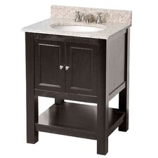 "Gazette 24"" Two Door Bathroom Vanity Base"