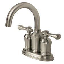Verdanza Centerset Bathroom Faucet with Double Handles