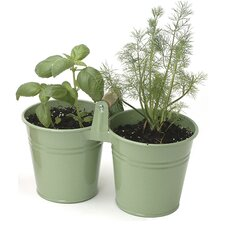 2 Pail Round Planter (Set of 12)