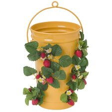 <strong>Houston International</strong> Round Strawberry Planter