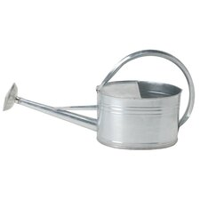 2 Gal Oval Galvanized Watering Can