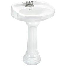 Aberdeen Pedestal Sink Set