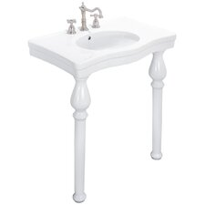 <strong>Elizabethan Classics</strong> English Turn Console Bathroom Sink