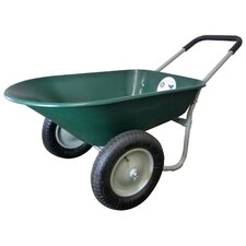 <strong>Marathon Industries</strong> 5 Cubic Feet Poly Wheelbarrow