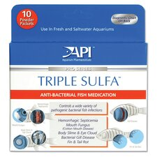 Triple Sulfa Powder Packet  Fish Medication
