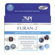 Furan-2 Powder Fish Medication - 10 Pack