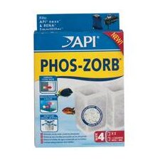 Api Phos-Zorb Size 4 Filter - 2 Pack