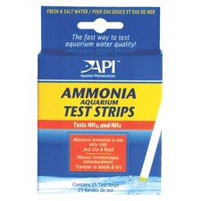 25 Count Ammonia Aquarium Test Strip