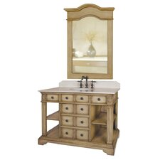 "46"" Single Bathroom Vanity Set"