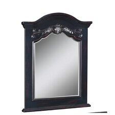 "Carved Portrait 40"" x 28"" Bathroom Vanity Mirror"