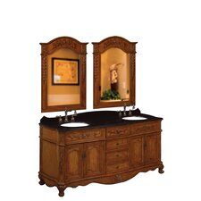 "<strong>Belle Foret</strong> 72"" Double Vanity Set"