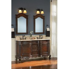 "<strong>Belle Foret</strong> 59"" Double Vanity Set"