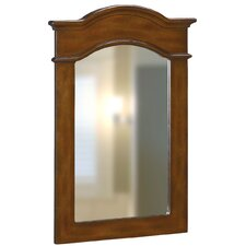 Portrait Mirror in Dark Cherry