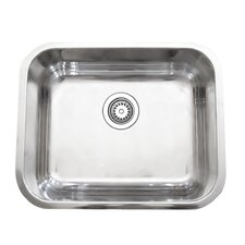 "23"" x 17.75"" Single Bowl Kitchen Sink"