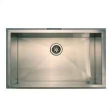 "32"" x 19"" Zero Radius Undermount Kitchen Sink"