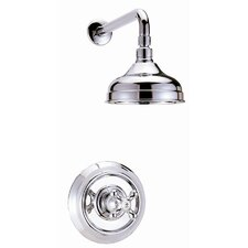 <strong>Belle Foret</strong> Volume Shower Faucet Trim  Set with Cross Handle
