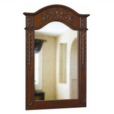 Single Carved Portrait Wall Mirror