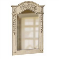 <strong>Belle Foret</strong> Single Carved Portrait Mirror