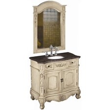 "36.88"" Single Basin Vanity Set"