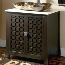 "30"" Single Vessel Sink Vanity Set"