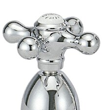<strong>Belle Foret</strong> Metal Cross Handle for Kitchen Faucets