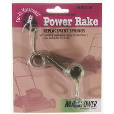 Power Rake Replacement Springs (Pack of 2)