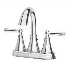Saxton Centerset Faucet with Double Handles