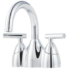 Contempra Double Handle Centerset Bathroom Faucet