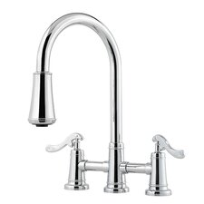 Ashfield Double Handle Kitchen Faucet