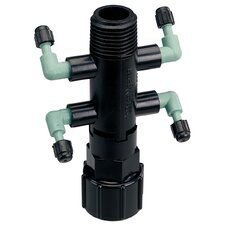 Quad Riser Adapter Manifold Full-Flow