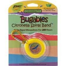 Bugables Citronella Spiral Band