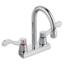 Heritage Two Handles Centerset Kitchen Faucet with Optional Handles