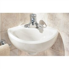 Corner Minette Wall Mount Bathroom Sink