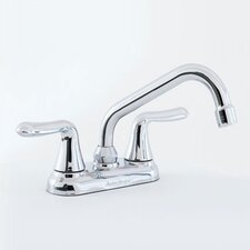 Colony Soft Deck Mounted Laundry Faucet with Double Lever Handle
