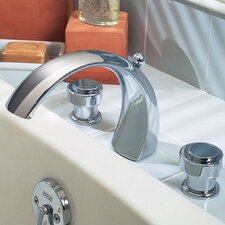 Lexington Deck Mount Bath Tub Faucet with Hand Shower