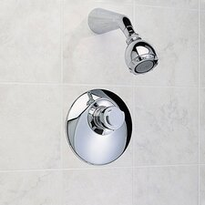 Amarilis Contemporary Diverter Shower Faucet Trim Kit with EverClean