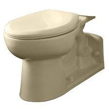 High 1.1 GPF / 1.6 GPF Elongated Toilet Bowl Only